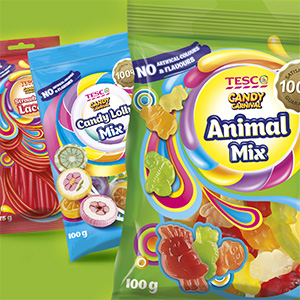 Tesco Candy Carnival