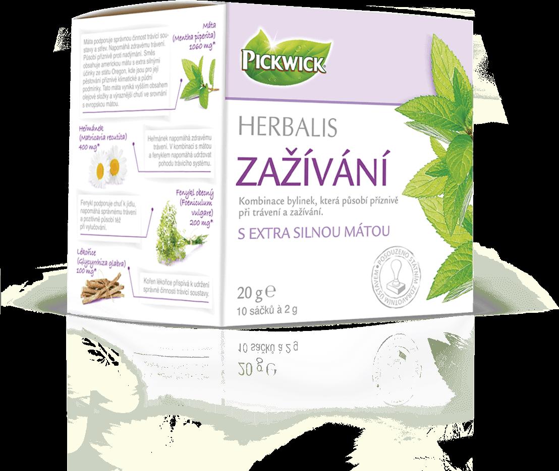 Pickwick functional herbal tea
